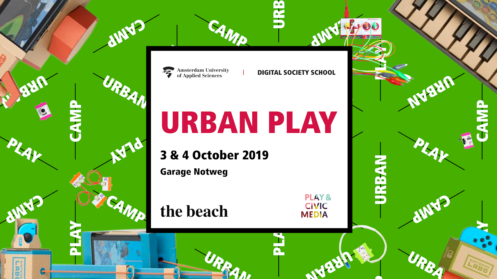 Oct 3-4 DSS/ Trust in Play Urban Play Camp