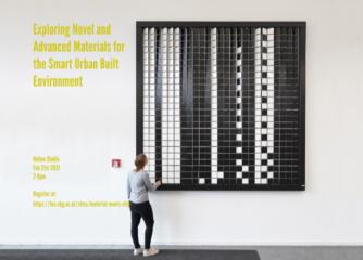 ONLINE STUDIO | Exploring Novel and Advanced Materials for the Smart Urban Built Environment